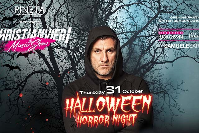 HALLOWEEN/ Christian Vieri dj al Pineta
