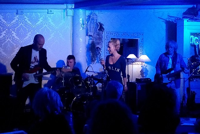 Martha e i Blue Jacket in concerto all'antico porto di Classe