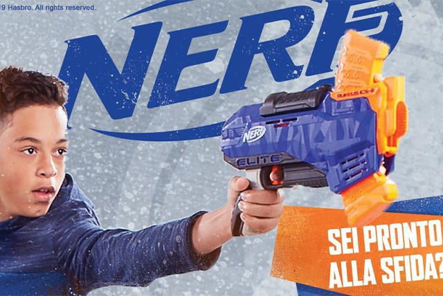 Nerf Village all'Esp